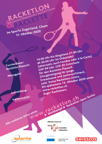Flyer Racketlon Open Cham 2020.10